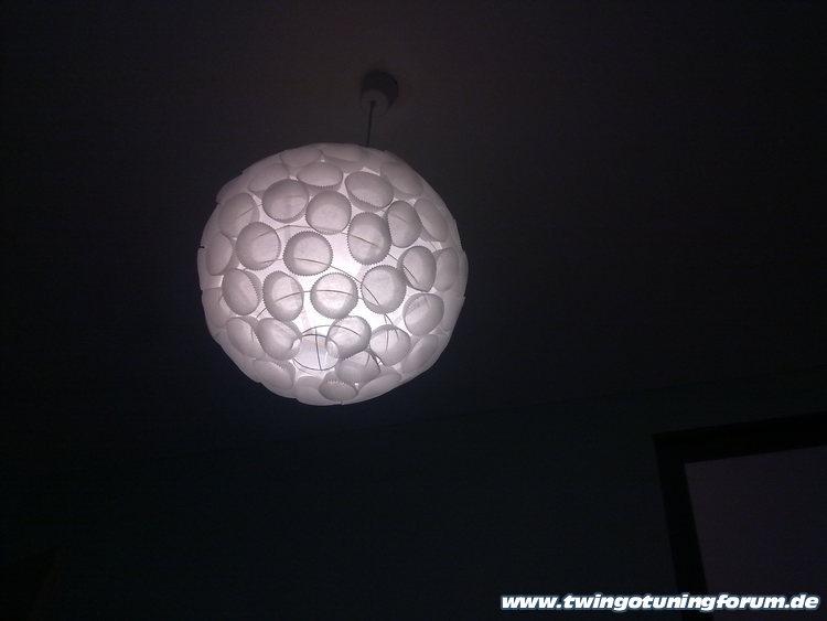 space lampe selber machen. Black Bedroom Furniture Sets. Home Design Ideas