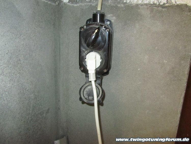 Zif steckdose für waschmaschine und trockner